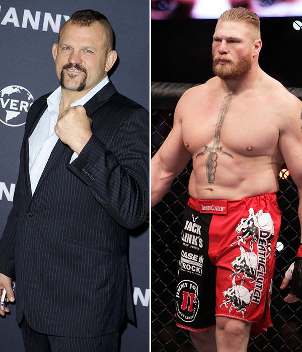 Chuck Liddell Brock Lesnar UFC 200