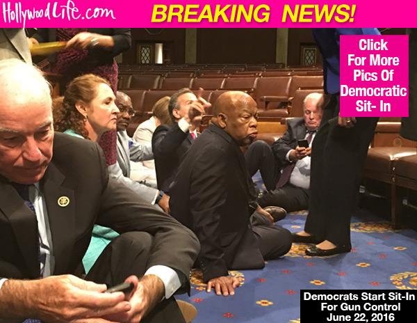 Celebs Support Gun Control Sit-In