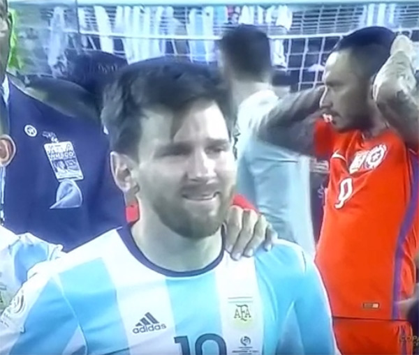 Lionel Messi Crying Memes