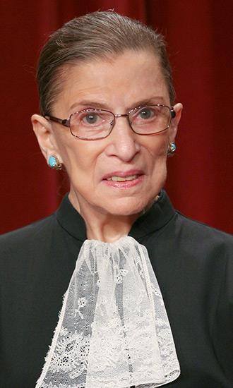 Ruth Bader Ginsburg Celebrity Profile