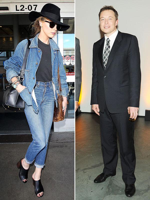 Elon Musk Amber Heard Dating