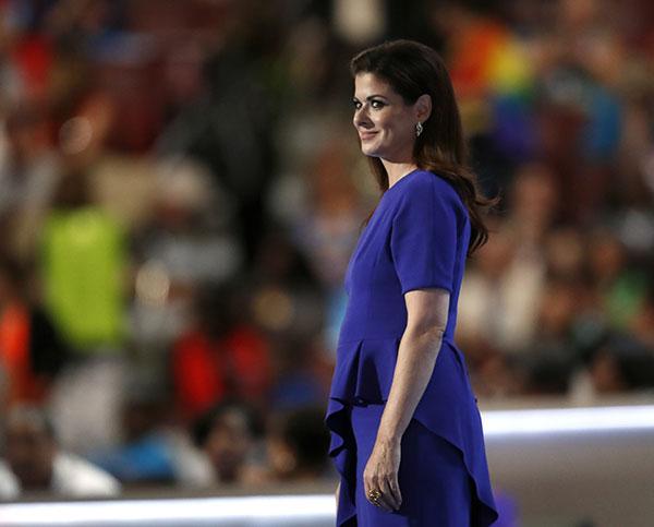 Debra Messing Dress DNC