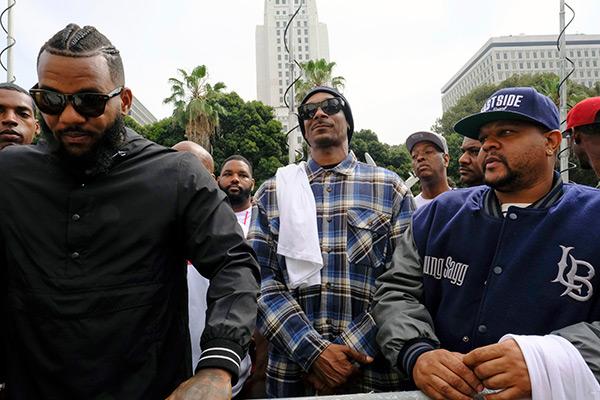 Snoop Dogg The Game Gang Meeting