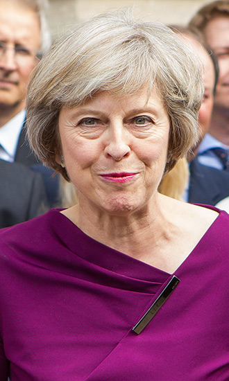 Theresa May Celebrity Profile