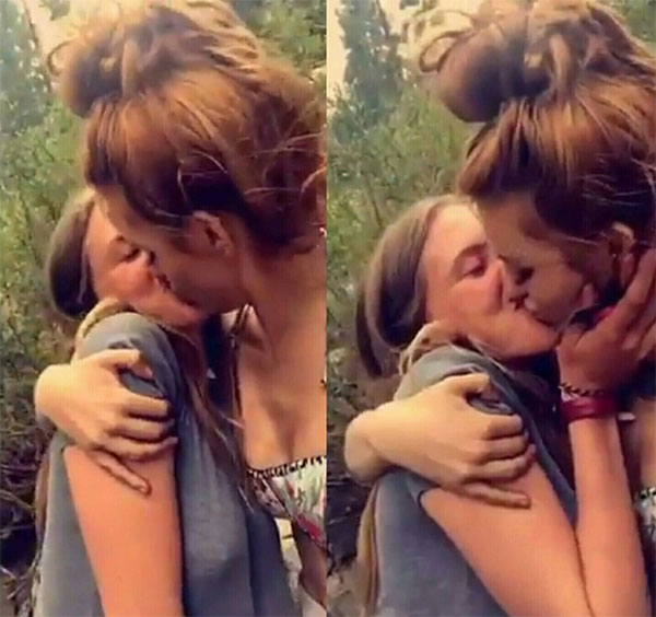 Bella Thorne Kissing Bella Pendergast