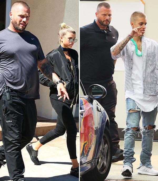 Justin Bieber Got Sofia Richie A Bodyguard — See Pics ...