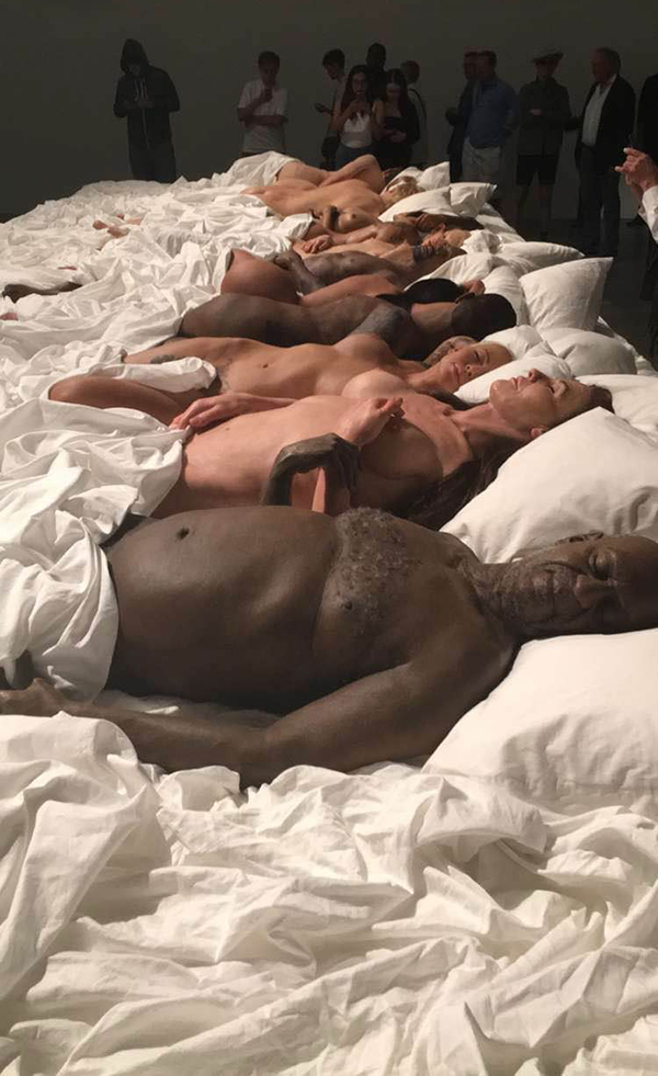 Kanye Wests First Gallery Exhibit Featured His Famous