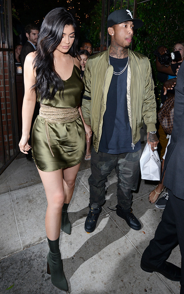 Tyga Kylie Jenner Matching Outfits