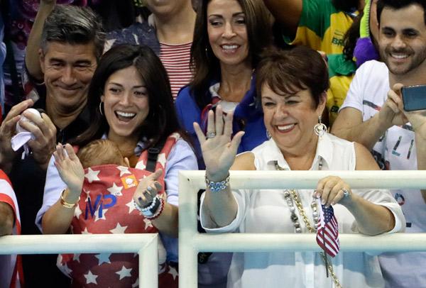 Michael Phelps Son Olympics