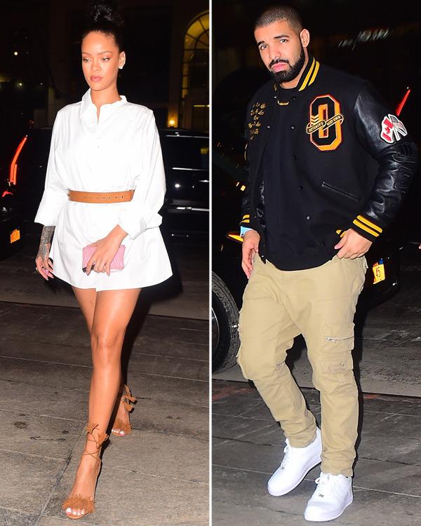 Rihanna Drake Date Night