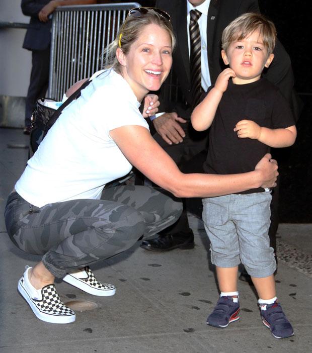 Sara Haines & her son Alec