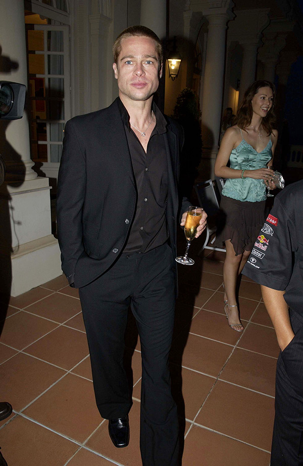 Brad Pit Alcohol