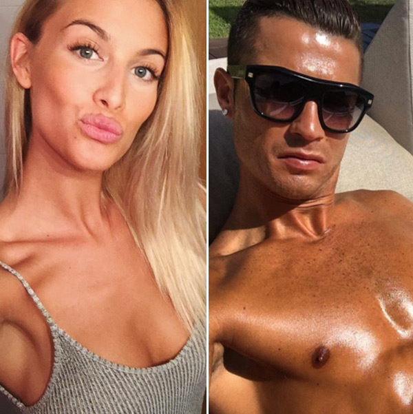 Cristiano Ronaldo Dating Desire Cordero