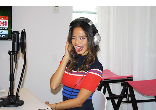 Jamie Chung Supports Demi Lovato