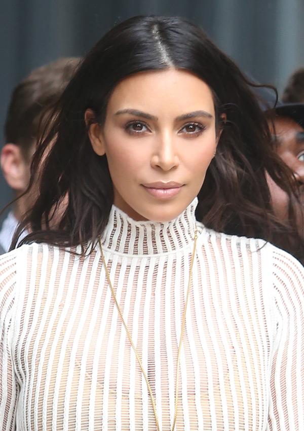 Kim Kardashian Yeezy Season 4 Hair