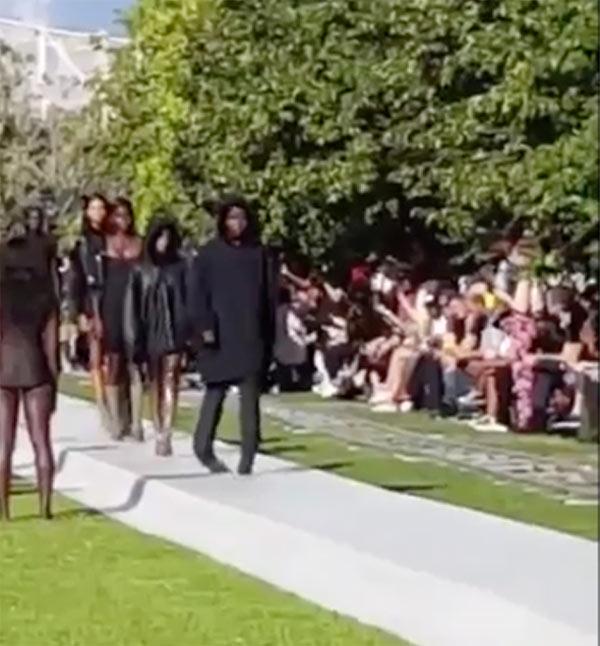 Kylie Jenner Defends Model Falling