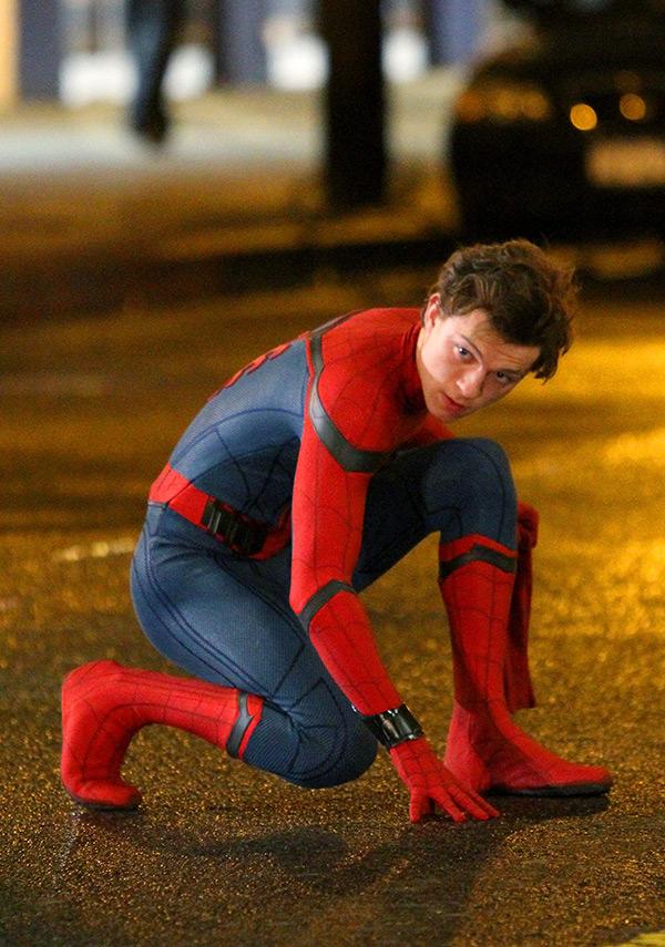Tom Holland Spider-Man Homecoming Set