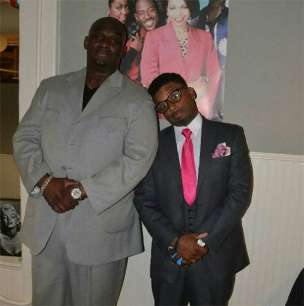 Pic Carl Payne On Tommy Ford S Death Touching Message For His Brother Hollywood Life