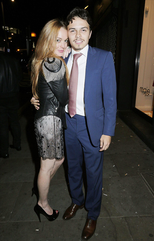 Egor Tarabasov Lindsay Lohan Abuse