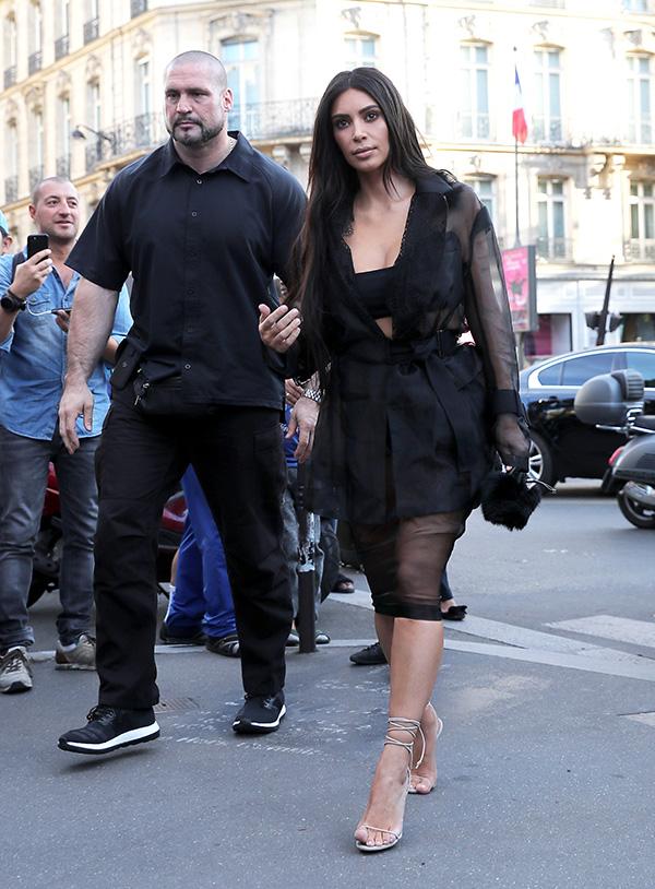Kim Kardashian Bodyguard