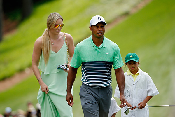 Lindsey Von Dating Tiger Woods