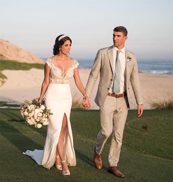 Michael Phelps Wedding Pic
