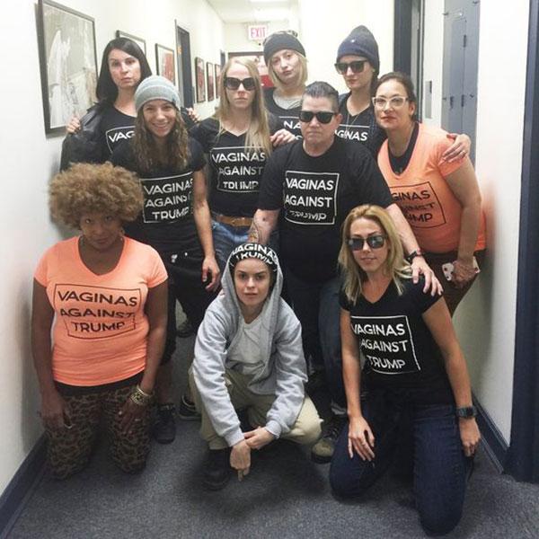 OITNB Cast Against Donald Trump