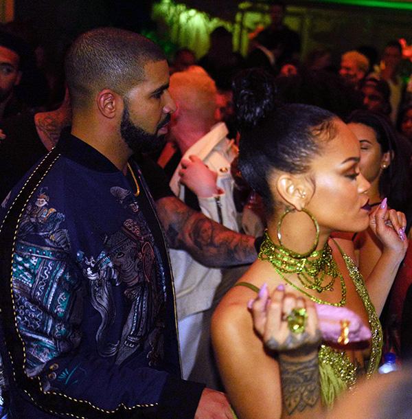 Rihanna Skipped Drake Birthday