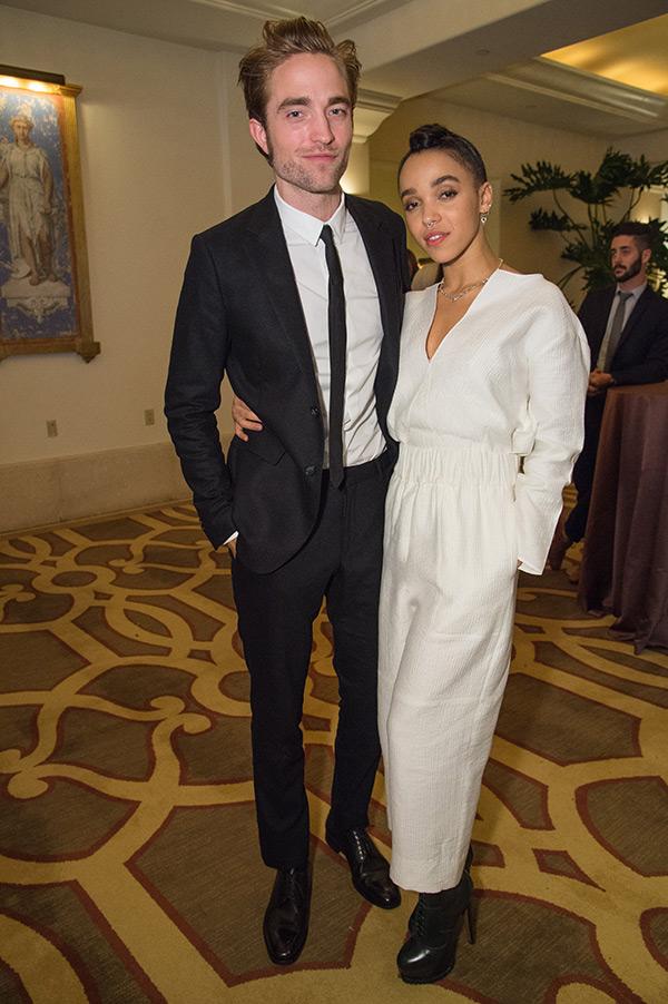 Robert Pattinson FKA Twigs Kristen Stewart