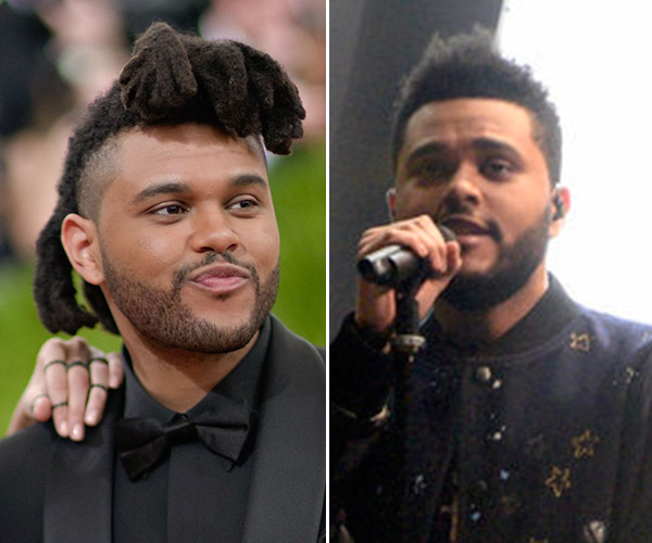 The Weeknd S Haircut Short Hair For Snl Premiere Performance Hollywood Life
