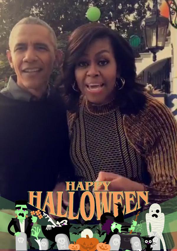 Michelle Obama White House Halloween