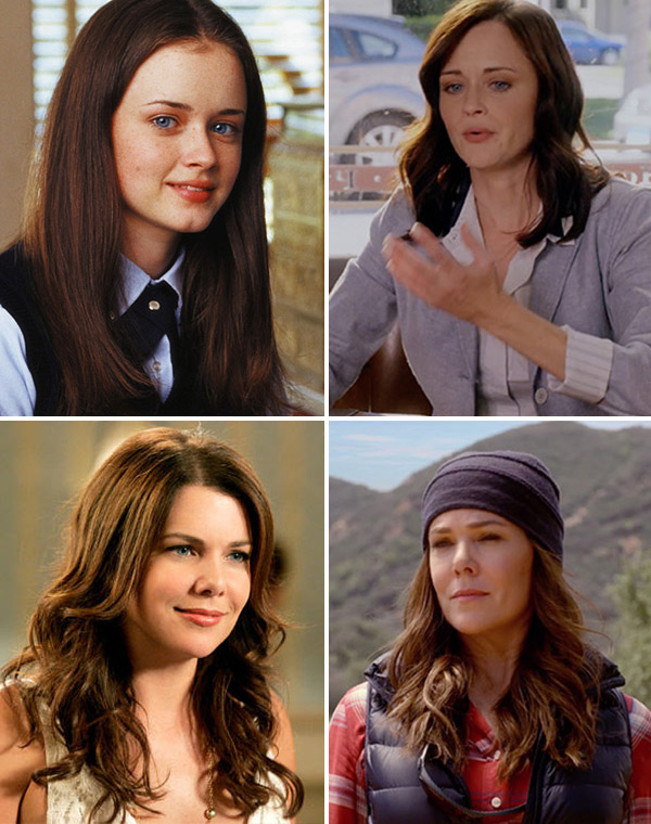 Gilmore Girls Cast Then Now