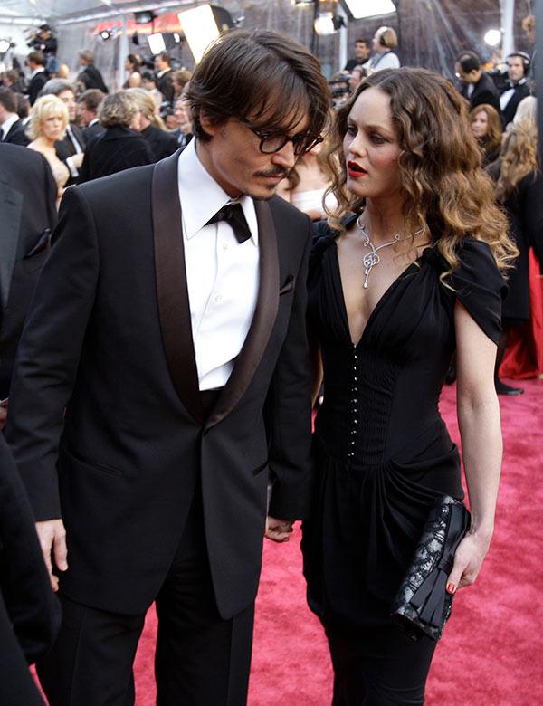 Johnny Depp Vanessa Paradis Back Together