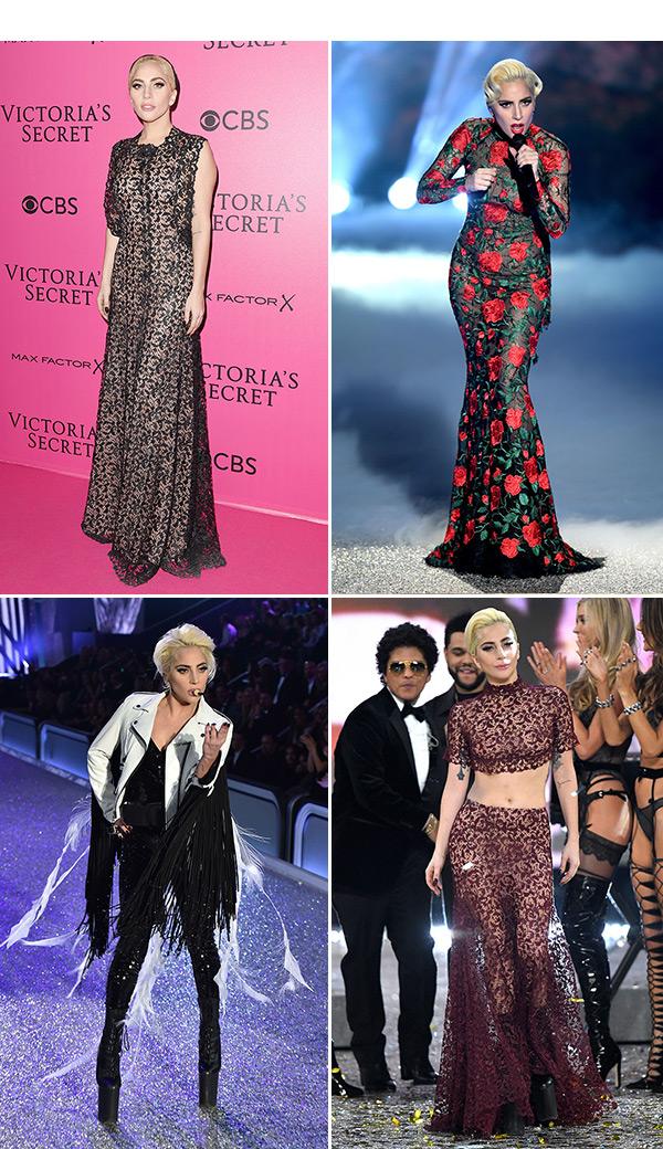Lady Gaga Outfits VS Fashion Show