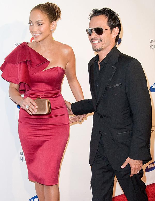 Marc Anthony Jennifer Lopez Back Together