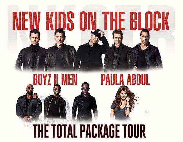 NKOTB Paula Abdul Total Package Tour