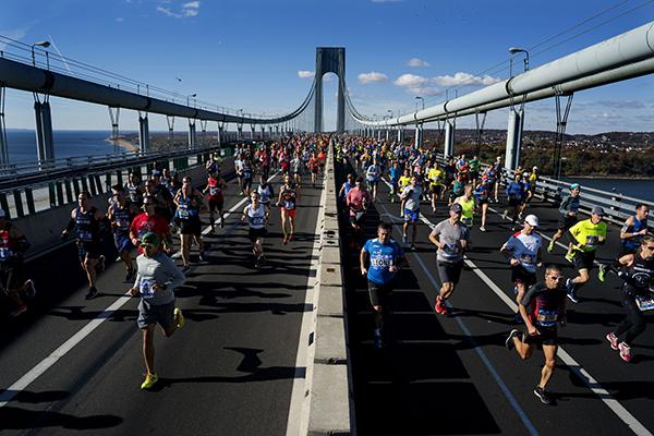 NYC Marathon Best Moments