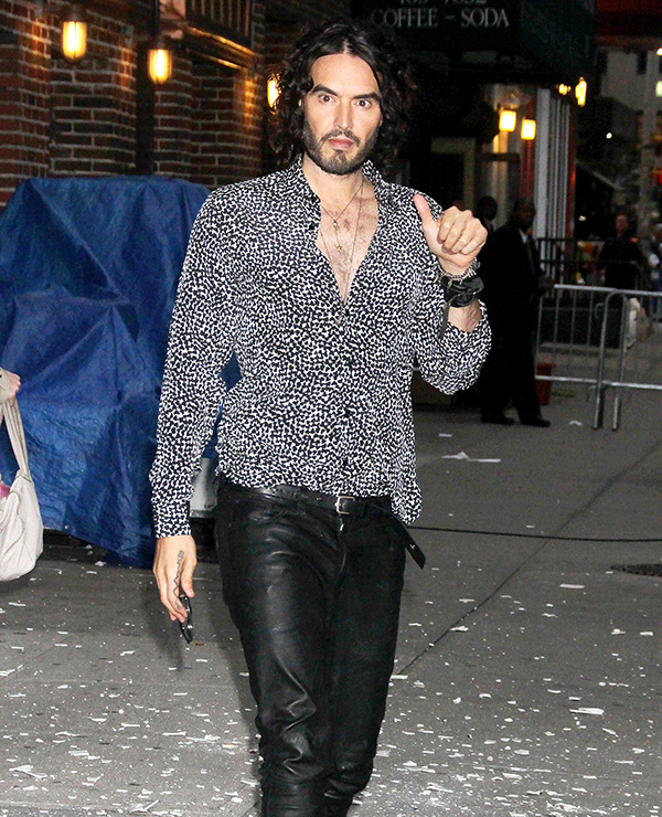 Russell Brand Baby Born