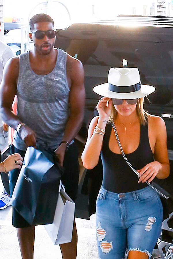 Khloe Kardashian Stressed Out