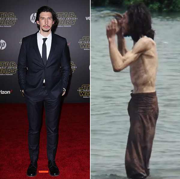 Adam Driver Weight Loss