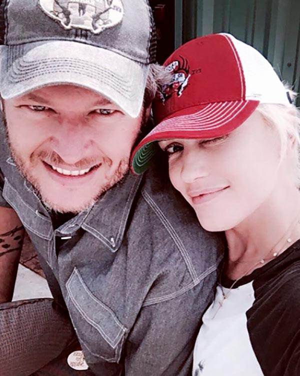 Blake Shelton Gwen Stefani Married