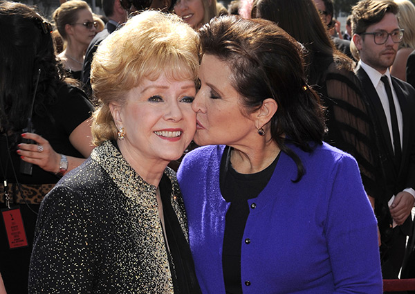 Debbie Reynolds Carrie Fisher Pics