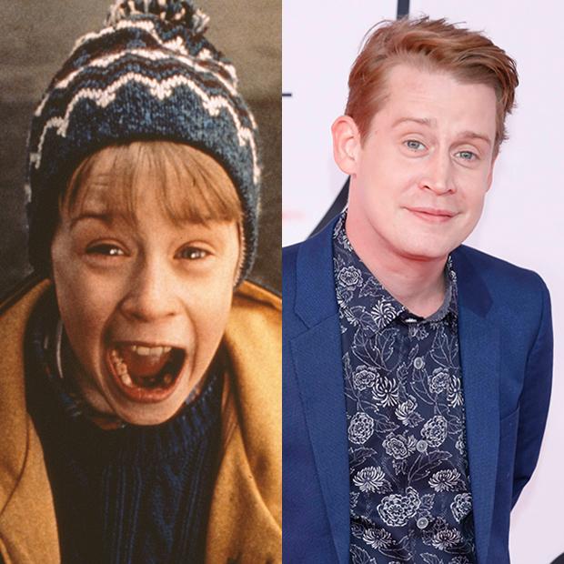 Macaulay Culkin then and now