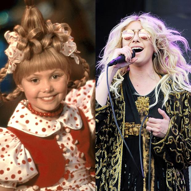 Taylor Momsen then & now