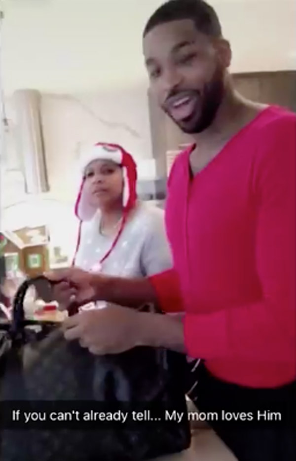 Tristan Thompson Christmas Gifts Kris Jenner