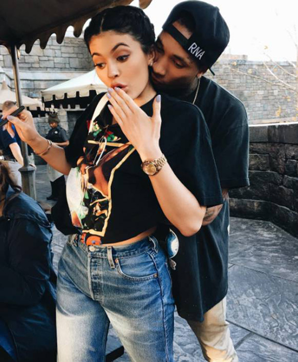 Kylie Jenner Tyga Tattoo