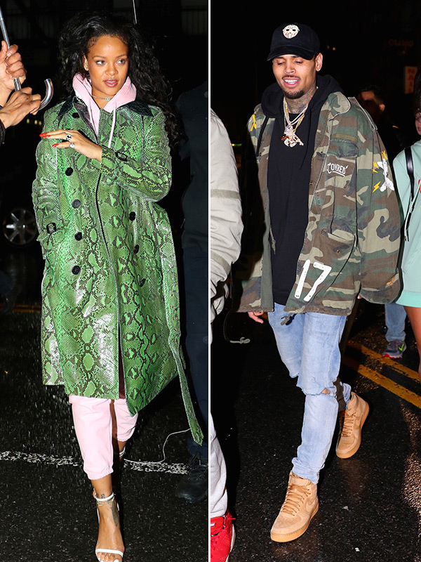 Rihanna Chris Brown Party Together