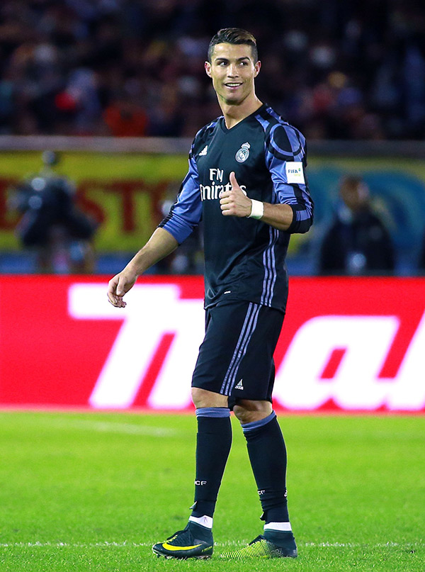 Cristiano Ronaldo Wins FIFA Mens Player Of The Year