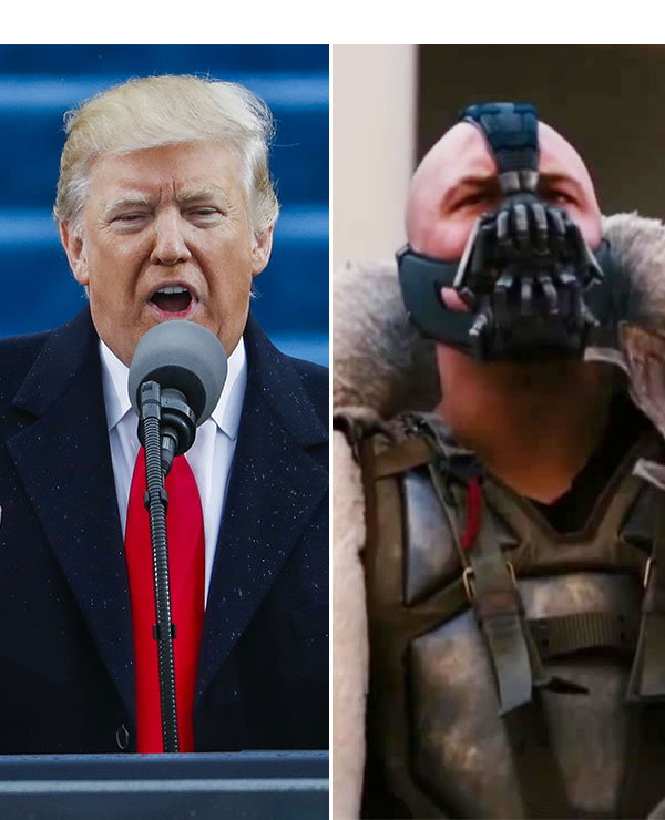 Donald Trump Stole Bane Speech