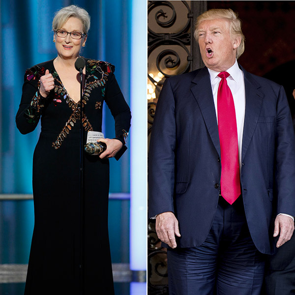 Meryl Streep Slams Donald Trump
